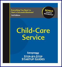 Child-Care Service Step-by-Step Startup Guide Left Click Book Cover to Open Direct Link