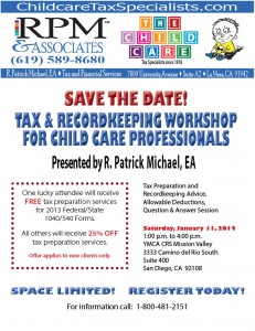 2014 Tax and Recordkeeping Workshop 01112014 Final