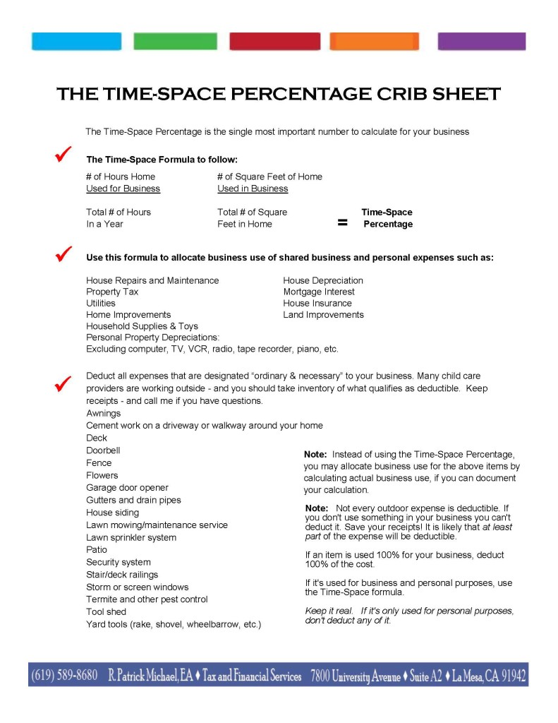 Figuring Time-Space Percentage